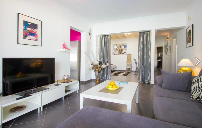 living room Villa Perla amour
