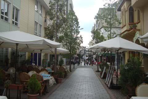 Selcuk town center