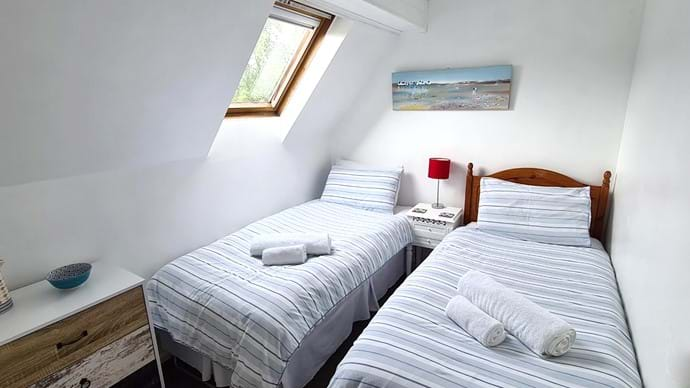 Bedroom 2 - can be a twin or a single room