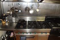 Large gas cookers