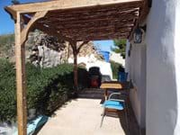 Casita Higuera Private Terrace Area.