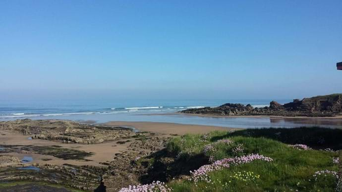 Our stunning local beach - Crooklets