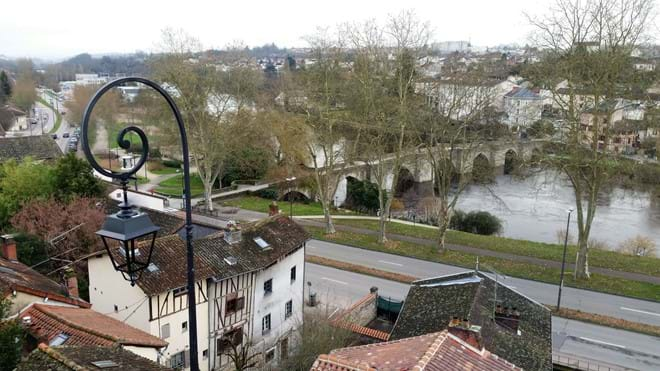 A bridge over the River Vienne, Limoges