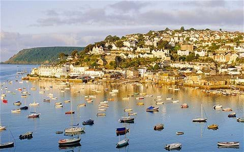 Salcombe in the sun