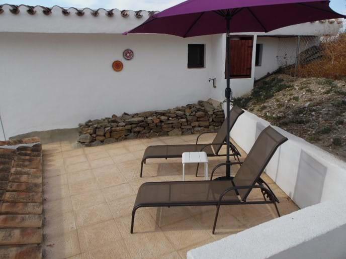 Private Terrace area.