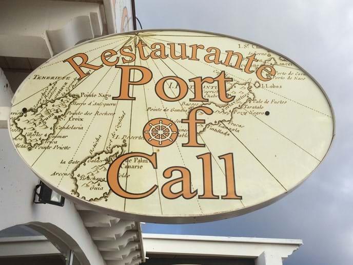 One of many fab restaurants - 5 min walk from villa