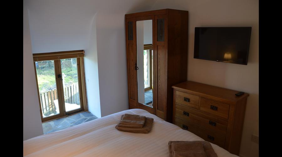 Main bedroom with smart TV