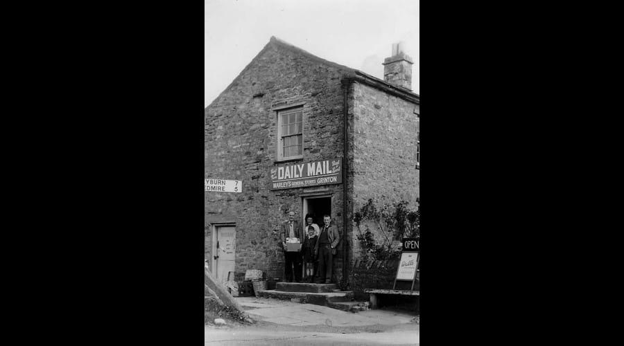 Corner House - As the Village Shop circa 1950