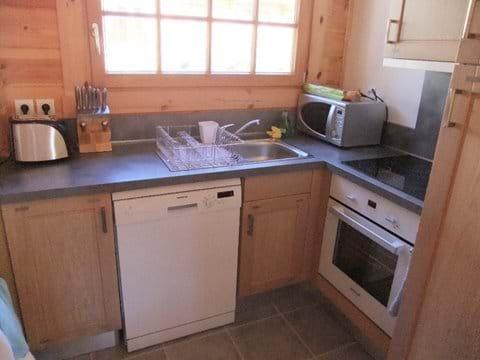 Chalet Rossa kitchen