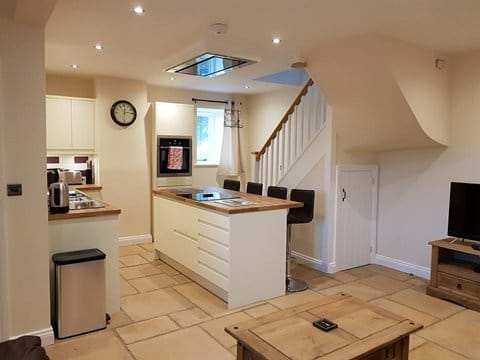 Open plan Kitchen with middle island