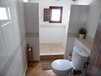 Bathroom with Walk In Shower.