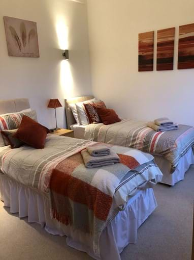Third bedroom can be configured as 2 singles or 1 super-kingsize bed