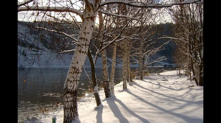 The River Front In Ellenz With The Hint Of  Winter Sunshine