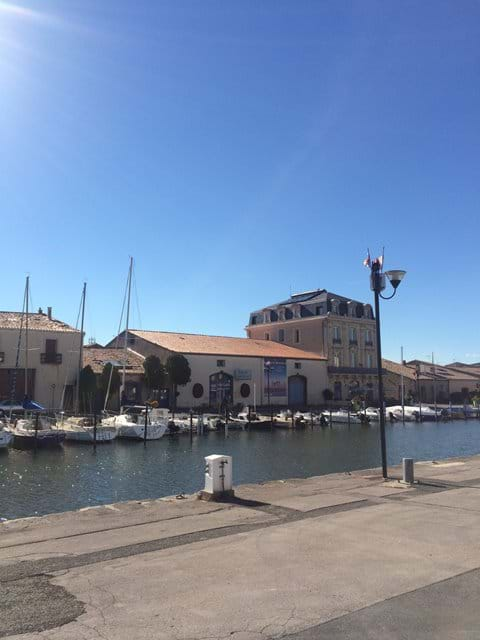 Marseillan Port - a must for lunch and people watching