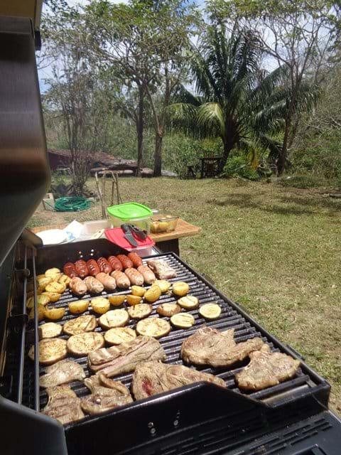 Chicken, Pork, Sausage, Potatos, Tortilla