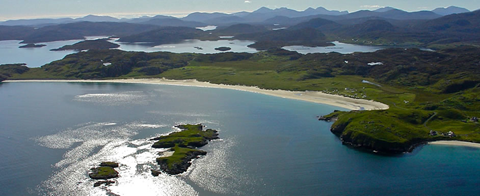 Isle of Lewis From Above