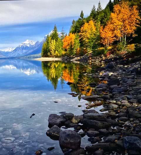 Flathead Lake shoreline