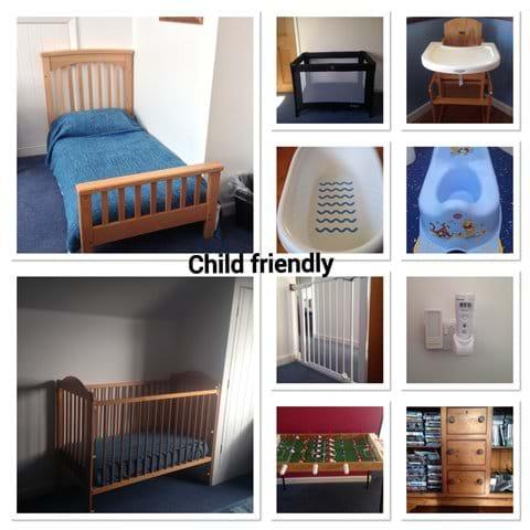 Child friendly equipment