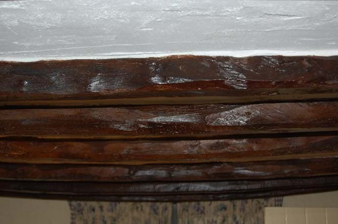 Original Beams in the Lounge - mind your head!