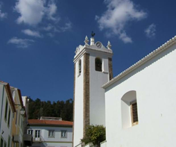 Church bell tower in Monchique