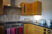 Well equipped Kitchen Area