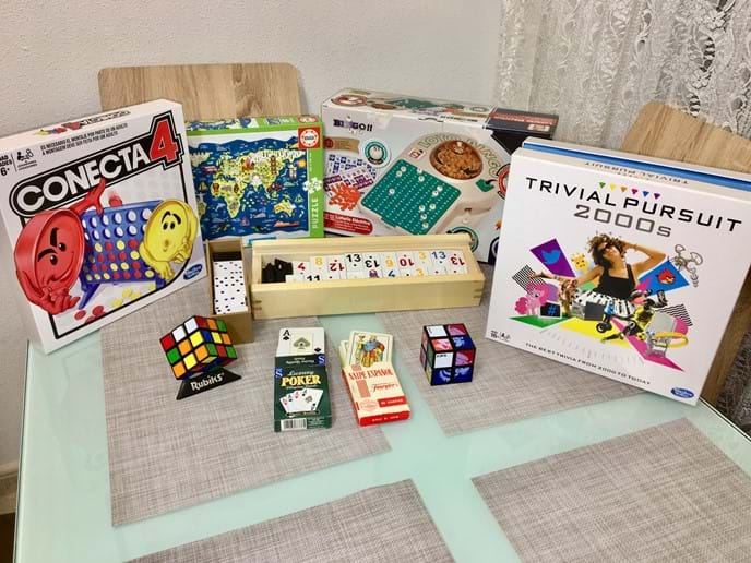 Holiday apartment - wide variety of games, suitable for all ages