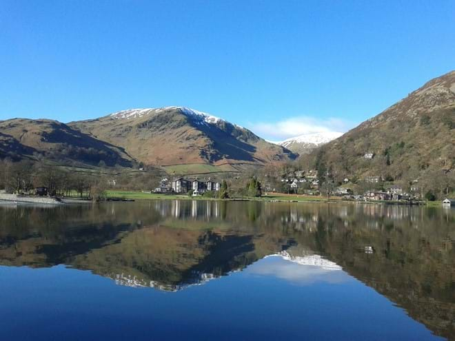 Glenridding .... looking towards Helvellyn