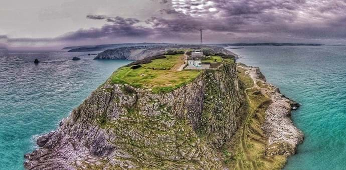 BERRY HEAD FROM ABOVE!