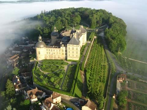 The beautiful Chateau de Hautefort