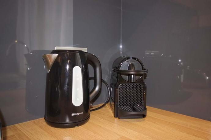 Essential Tea & Coffee making devices in holiday accomodation