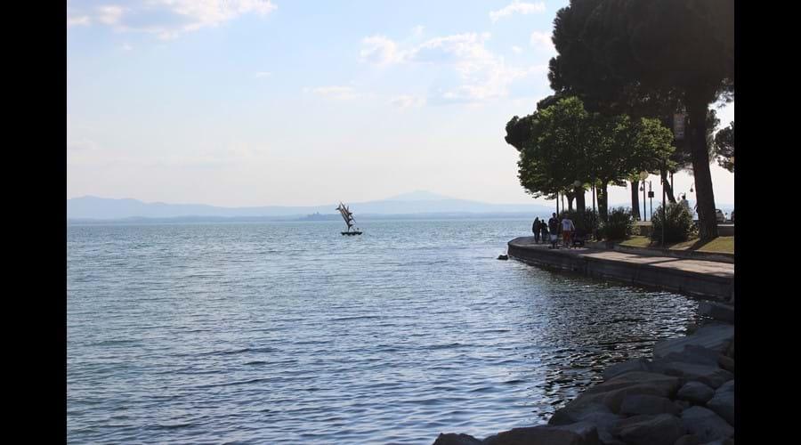Lake Trasimeno at Passignano