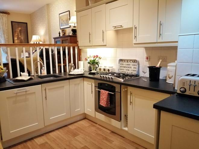 Kitchen - Everything you need if you decide to stay in and cook