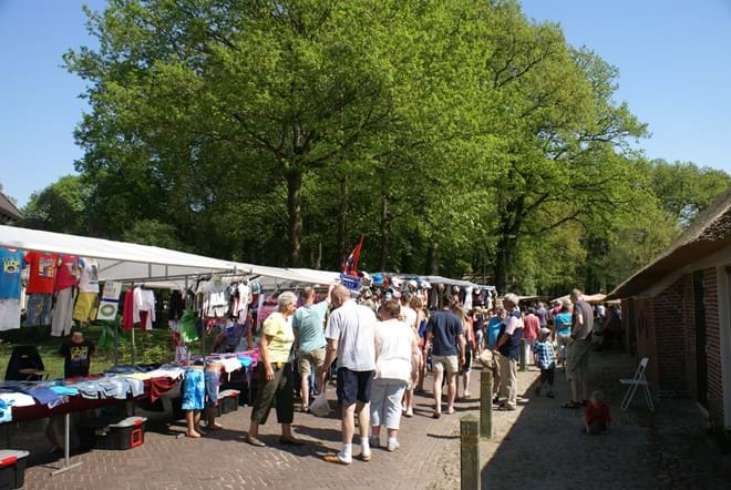 Summer market in Diever