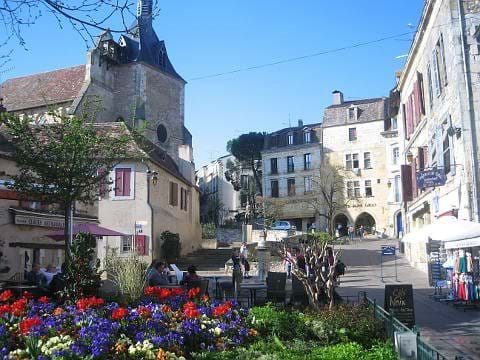 Bergerac - more hussle & bustle but a wonderful town nonetheless