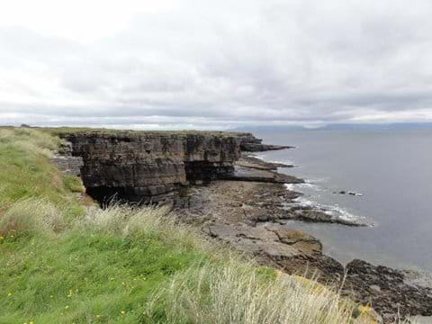 Muckross Head and caves