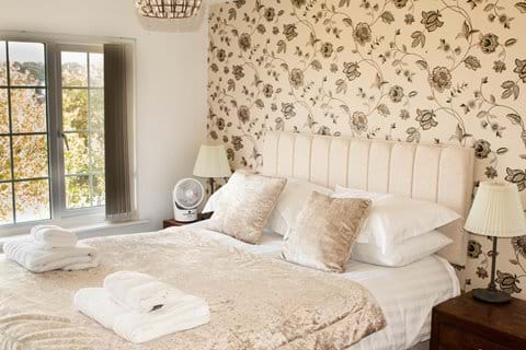 Top front bedroom with seaviews from the bed