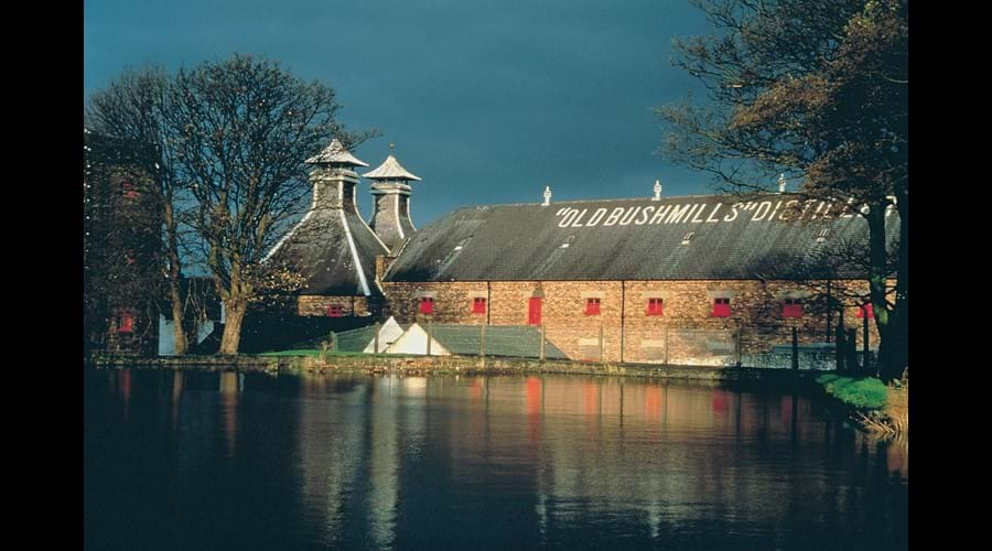Ireland's oldest whiskey distillery at Bushmills