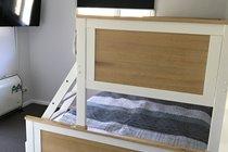 Ground Floor Bedroom 1 - TV with inbuilt DVD player