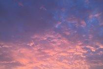 Sunrise over Peel