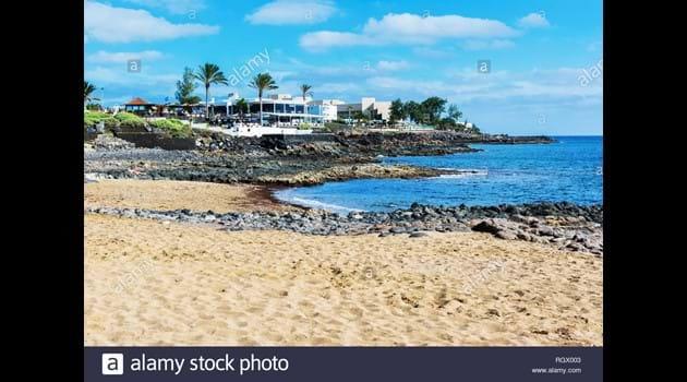 Playa Bastian beach