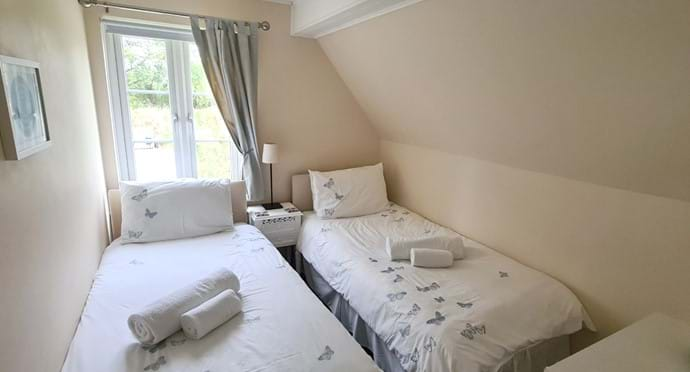 Bedroom 3 - Can be set up as a twin or a single room
