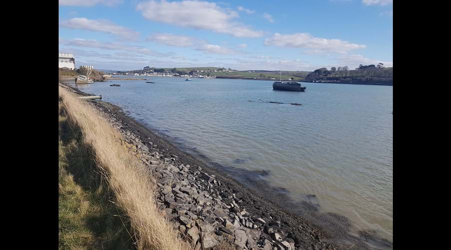 Approaching Appledore from the SW Coastal Footpath
