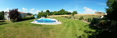 Pool, Garden, Main House and Gite