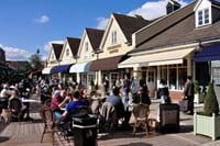 Bicester Village for some retail therapy