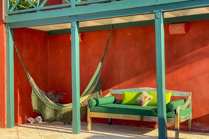Another place to sit or try the hammock