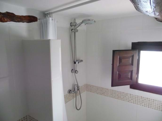 Walk in Shower Unit.