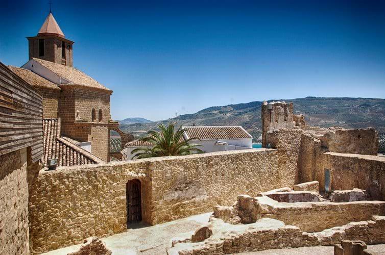 Iznajar Castle