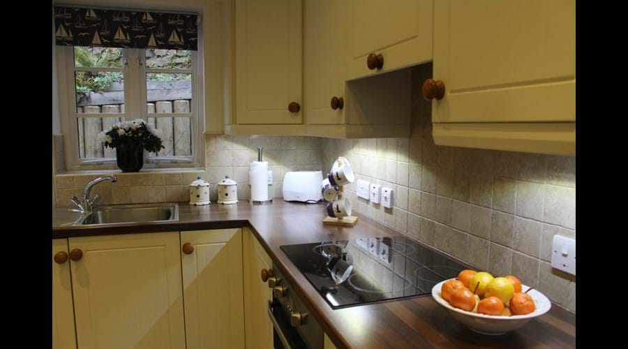 Well-appointed kitchen