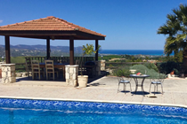 Glorious views from the villa and pool terrace