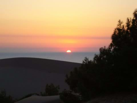 Sunset over the Dunes at Patara